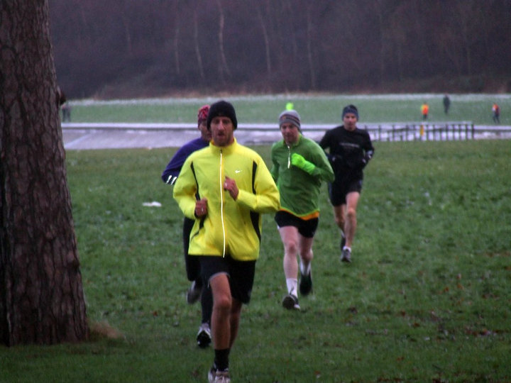 Winter gear on for a chilly Edinburgh Parkrun