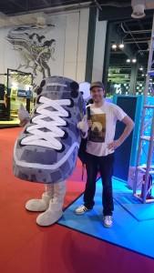 A giant shoe